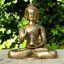 Figura de Buda bronce grande.