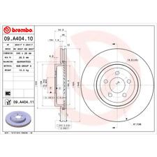Bremsscheibe (2 Stück) COATED DISC LINE - Brembo 09.A404.11