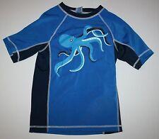 Nuevo Gymboree Azul Pulpo Neopreno Traje de Baño Blusa Talla 2T con Etiqueta