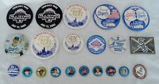 Lot of 20 Assorted Vintage Baseball Pin Back Button MLB All-Star Game B2102