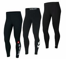 Nike Gym Leggings Womens High Rise Legging Yoga Pants Leggins Ladies Joggers