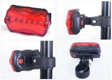 Fahrrad Rücklicht 5xLED Fahrrad Rücklicht Fahrradlicht Leuchte Warnung Lampe NEU