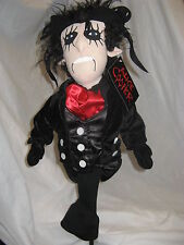 New - Creative Covers `Alice Cooper` Golf Club Driver Novelty Headcover