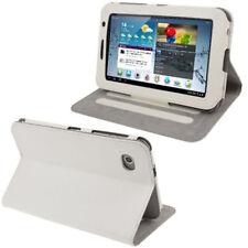 Tasche für Samsung P6200 Galaxy Tab 7.0 Plus in weiß Case mit Aufstellfunktion