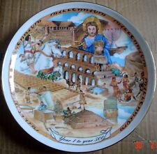 Royal Vale Collectors Plate YEAR 1 TO YEAR 500 Millennium Collection