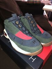 03477df0c KITH X TOMMY HILFIGER LUX BASKETBALL SNEAKER - FOREST   NAVY SIZE 6