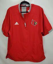 Adidas Baseball Fielders Choice 2.0 Jacket Large Red University Louisville Gift