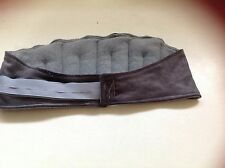 Heat / Wheat Bag for Lower Back - Grey  - adjustable - reduces pain