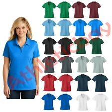 New Port Authority Ladies Dry Zone UV Micro-Mesh Polo 3 Button UPF Women's Shirt