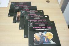 Music in the World of Islam 5 of6 LP Set Jenkins & Olsen - Tangent TGS131-4 &136