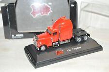 HO scale Malibu International die cast truck tractor red Freightliner