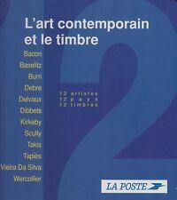L'art contemporain et le timbre,1996