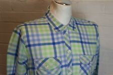 Abercrombie & Fitch para Hombre Marca Verde Camiseta Talla Grande-L