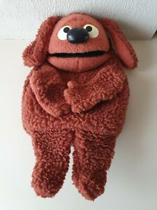 Collectable Vintage The Muppets Rowlf The Dog Puppet Soft Toy #852