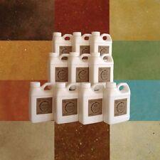 Concrete acid stain sample pack 10 - 16oz bottles of concrete colors