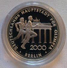 Medaille Berlin für Olympia 2000 PP 999 Feinsilber silver proof