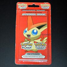 Officiel Pokemon Noir et Blanc Victini Edition Livre d'autocollants - 450 STICKERS!
