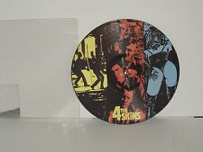 4-SKINS Good The Bad & The 4 Skins Picture Disc LP 2001 Captain Oi! Plays Well