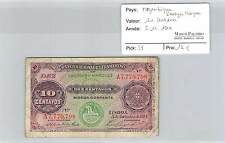 BILLET MOZAMBIQUE - 10 CENTAVOS - 5-11-1914