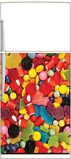 Sticker frigo électroménager déco cuisine Bonbons 60x90cm Réf 1385