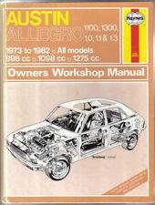 Austin Allegro 1100 & 1300 1.0 1.1 & 1.3 Haynes Owners Workshop Manual 1973-1982