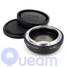 Pixco Speed Booster Focal Reducer Adapter For Canon FD Lens to Sony E NEX 5R 7