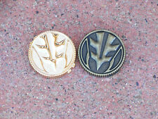 Prop V3 Tiger Power White Coaplsy Ranger Coin Morpher Reject Gold and Weathered