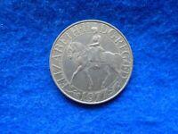 1952-1977 H.M. QUEEN ELIZABETH II SILVER JUBILEE COMMEMORATIVE CROWN COIN