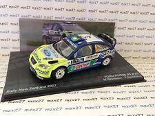 VOITURE RALLYE FORD FOCUS RS WRC  RALLYE NOUVELLE ZELANDE 2007 GRONHOLM 1/43 EME