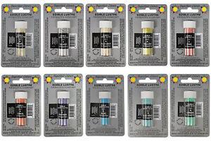 Sugarflair Edible Lustre Glitter Dust Powder - 2g All Shades