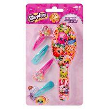 Shopkins Brush & Hair Clips Gift Set Beauty Present Children Kids Child Girls