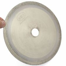 "8"" inch SINTERED Diamond Lapidary Saw Blade Tools Slab Trim Arbor 1-1/4 Gemstone"