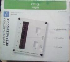 On-Q Legrande 6 port Cat 5e Network Interface Module AC1012