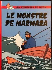 Le Monstre de Marmara - Tintin - Pastiche - Couleur - 48 pages