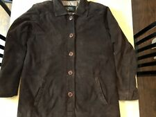 Orvis Brown Canvas Jacket Women's Size Small