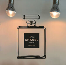 Vinyl Wall Decal Coco Chanel CC Stickers Decor Poster Mural
