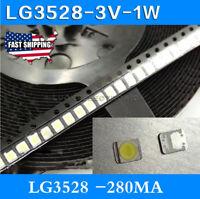Original For LG LED TV Strip Bar Repair , 100pcs 3528 2835 3V SMD Lamp Beads