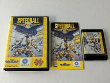 Speedball 2 Brutal Deluxe Complete for Sega Genesis System *TESTED & AUTHENTIC*