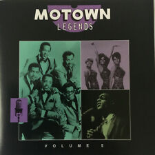 Music CD Motown Legends Volume 5 Various Artists Wonder Supremes Gaye Temptation