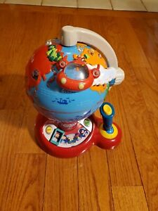 Little Einsteins Learn and Discover Globe Talking Toy Rocket Vtech Geography