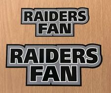 NFL Oakland Raiders Sticker Decal - Super Bowl Fantasy Football Raider Nation