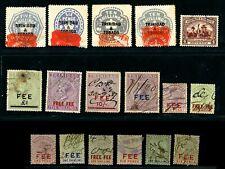 Trinidad & Tobago Revenue Lot QV-KGV x17