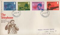 GB 1976 TELEPHONE ALEXANDER GRAHAM BELL FIRST DAY COVER FDC - PADDINGTON