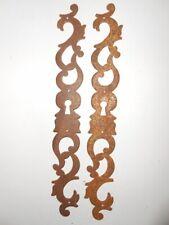 Ornement Entrée de Serrure métal fer armoire ancienne restauration porte