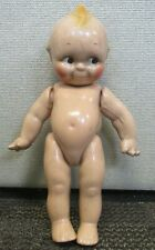 """Vintage 1930's Cameo? Jointed Composition Kewpie Doll 12-1/2"""""""