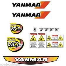 Yanmar VIO15 Decals Stickers Kit Set Mini Excavator
