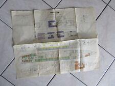 plan 1950 paquebot le MEXIQUE COMPAGNIE GENERALE TRANSATLANTIQUE
