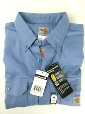 Carhartt Men's Flame Resistant XL Tall Blue