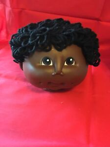 Martha Nelson Thomas doll Head Black Baby 4 1/2 ""
