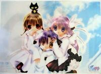 Pita Ten School Plastic Clear Poster Anime MINT